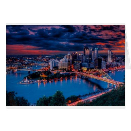 Pittsburgh3475 Greeting Card