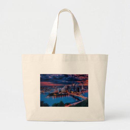 Pittsburgh3475 Jumbo Tote Bag