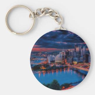 Pittsburgh3475 Key Chain