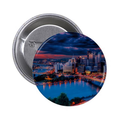 Pittsburgh3475 Pinback Buttons