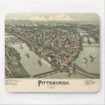 Pittsburgh 1902 alfombrilla de ratón