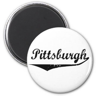Pittsburgh 2 Inch Round Magnet