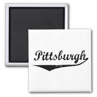 Pittsburgh 2 Inch Square Magnet