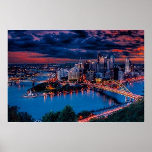 Pittsburgh 3475 Prints Print