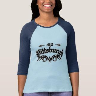 Pittsburgh 412 camisetas