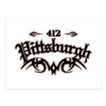 Pittsburgh 412 postal