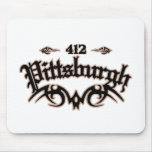Pittsburgh 412 tapete de raton