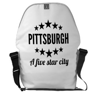 Pittsburgh A Five Star City Messenger Bags