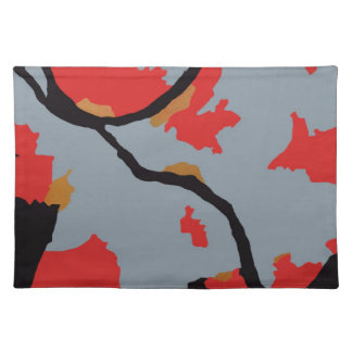 Pittsburgh Abstract Art Cloth Placemat