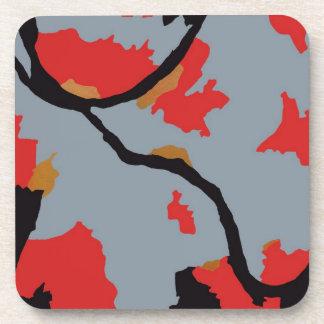 Pittsburgh Abstract Art Coaster