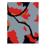 Pittsburgh Abstract Art Postcard