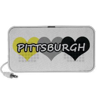 Pittsburgh Portátil Altavoz