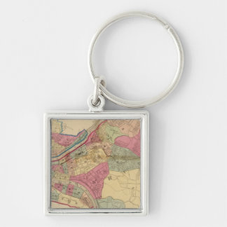 Pittsburgh and Allegheny Keychain
