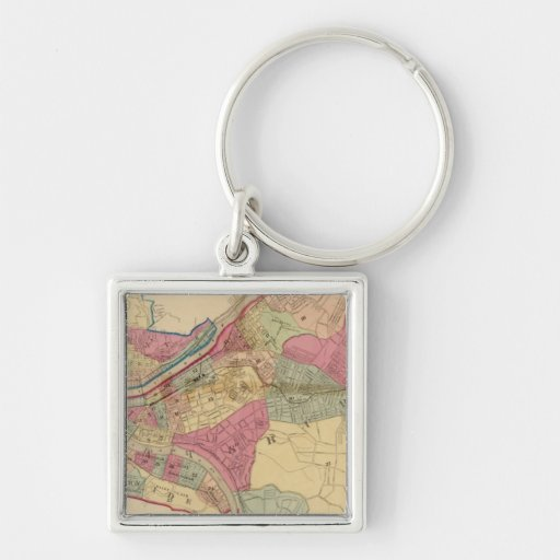 Pittsburgh and Allegheny Keychains