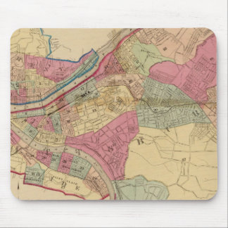 Pittsburgh and Allegheny Mouse Pad