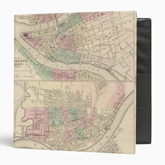 Pittsburgh and Allegheny, Pennsylvania Binder