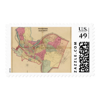 Pittsburgh and Allegheny Postage