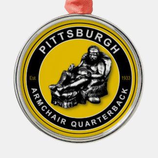Pittsburgh Armchair QB Ornament