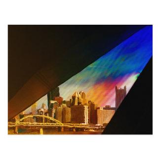 Pittsburgh artística Pennsylvania Tarjeta Postal