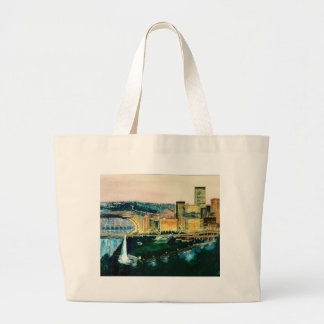 Pittsburgh at Dusk Tote Bags