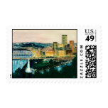 Pittsburgh at Dusk Postage Stamps