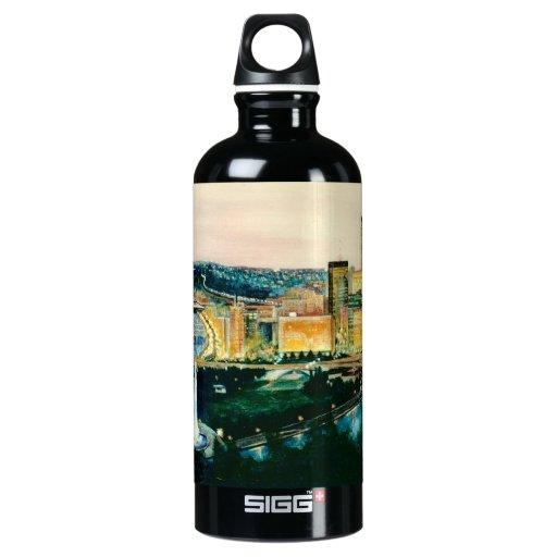 Pittsburgh at Dusk SIGG Traveler 0.6L Water Bottle