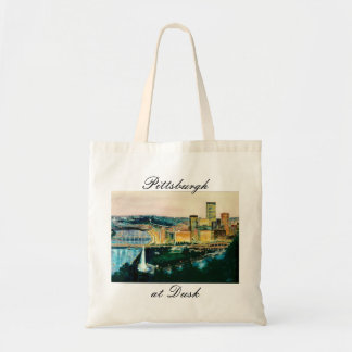 Pittsburgh at Dusk Tote Tote Bags