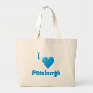Pittsburgh -- Azul de cielo Bolsas