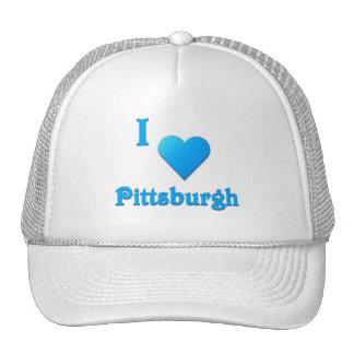 Pittsburgh -- Azul de cielo Gorras