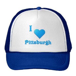 Pittsburgh -- Azul de cielo Gorros