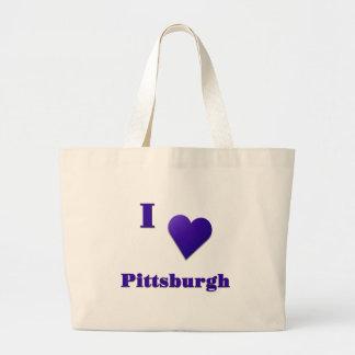 Pittsburgh -- Azul de medianoche Bolsas