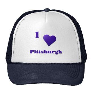 Pittsburgh -- Azul de medianoche Gorros