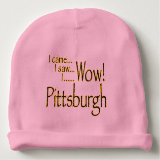 PITTSBURGH BABY BEANIE FOR GIRL