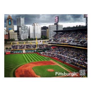 Pittsburgh Baseball Postcard