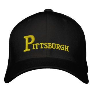 Pittsburgh Big P Olde Fashioned Embroidered Baseball Cap
