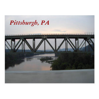 Pittsburgh Bridge Postcard