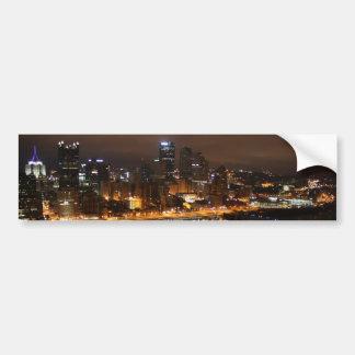 Pittsburgh Bumper Sticket Bumper Stickers