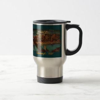 Pittsburgh By Moonlight Travel Mug