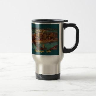 Pittsburgh By Moonlight Travel Mug