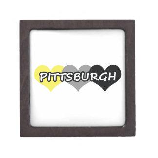 Pittsburgh Cajas De Recuerdo De Calidad