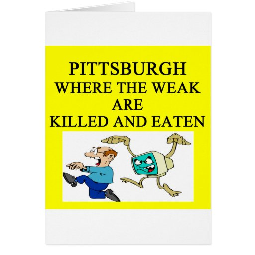 PITTSBURGH CARD