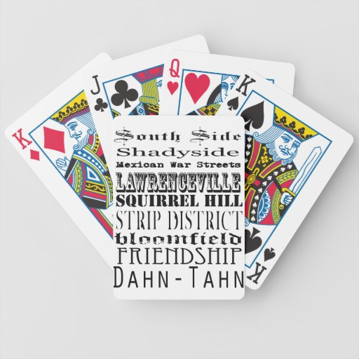Pittsburgh Cards Card Deck
