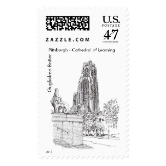 """Pittsburgh, """"Cathedral of Learning"""" Stamp"""