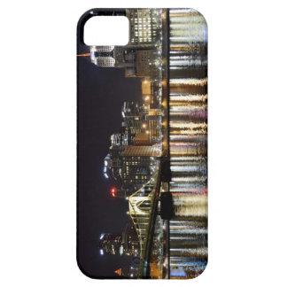 Pittsburgh céntrica en la noche funda para iPhone SE/5/5s