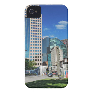 Pittsburgh céntrica iPhone 4 fundas