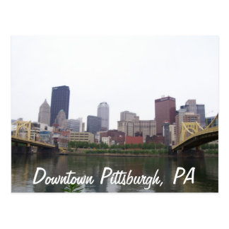 Pittsburgh céntrica, PA Postales