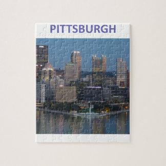 Pittsburgh céntrica rompecabezas