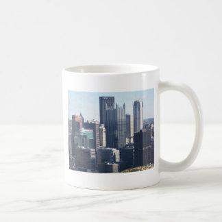 Pittsburgh céntrica taza de café