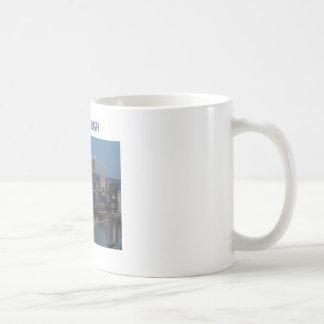 Pittsburgh céntrica tazas de café