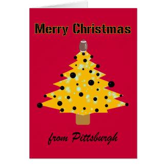 Pittsburgh Christmas Greeting Card
